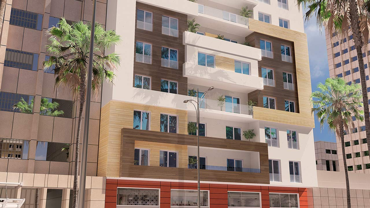 Projet La Bahia de Tanger promotion Tanger immobilier AFFER